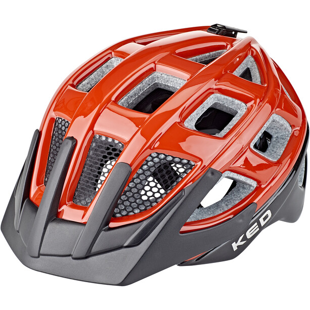 KED Kailu Helm Kinder red/black