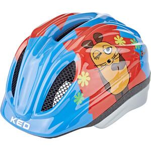 KED Meggy II Originals Helm Kinder die maus blau/bunt