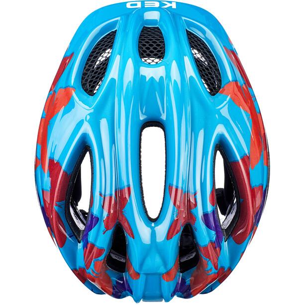 KED Meggy II Trend Helm Kinder butterfly/blue