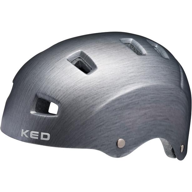 KED Risco Helm grey/metall matte