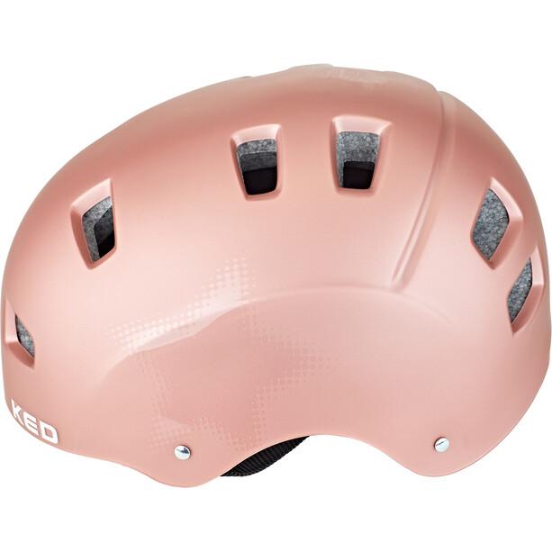 KED Risco Helm rose star matte