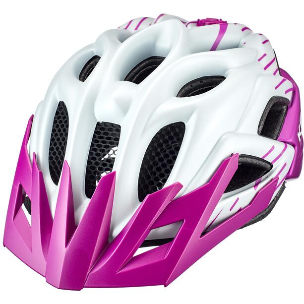 KED Status Helm Kinder pearl/violet matte