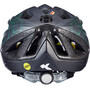 KED Street MIPS Helm Kinder anthracite/green matte