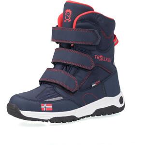 TROLLKIDS Lofoten Winter Boots Kinderen, blauw/rood blauw/rood