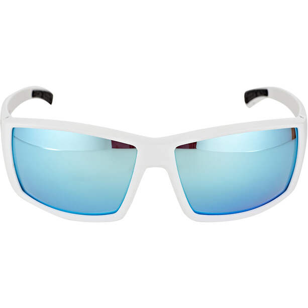 Bliz Drift Lunettes, matte white/smoke/blue multi