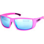 matte pink/smoke/blue multi