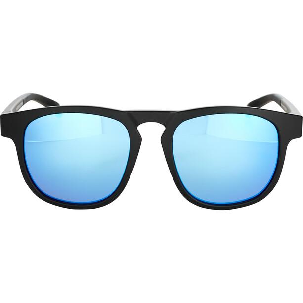 Bliz Ace Brille matte rubber black/smoke/blue multi