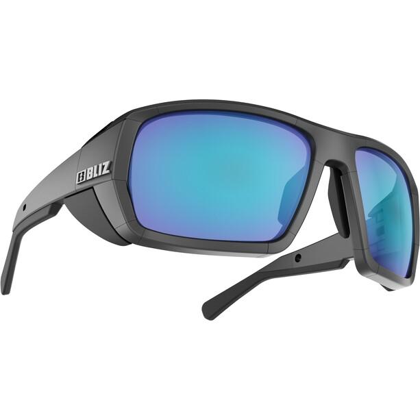 Bliz Peak Brille matte black/brown/blue multi