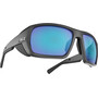 Bliz Peak Glasses matte black/brown/blue multi