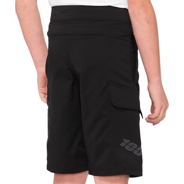 100% Ridecamp Shorts Jugend black