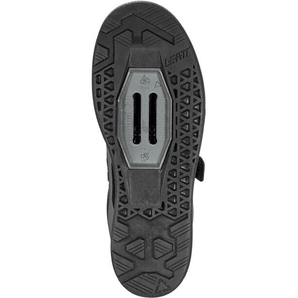 Leatt DBX 5.0 Chaussures à déclic Homme, noir/gris