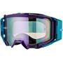 Leatt Velocity 5.5 Iriz Anti Fog Mirror Lunettes de protection, aqua/purple