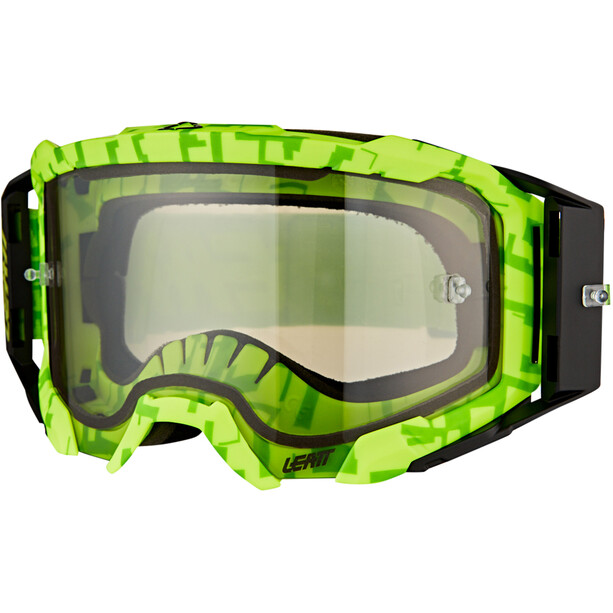 Leatt Velocity 5.5 Anti Fog Goggles neon lime/light grey