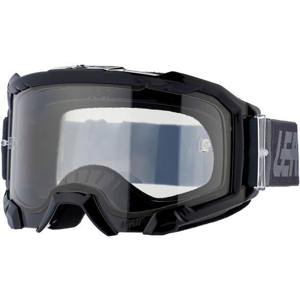 Leatt Velocity 4.5 Anti Fog Beskyttelsesbriller, sort/grå