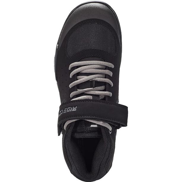 Ride Concepts Wildcat Chaussures Adolescents, noir/gris