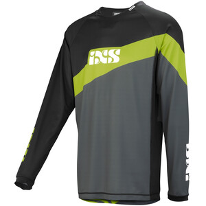 IXS Race 7.1 DH Trikot Worldcup Edition Herren graphite/lime graphite/lime