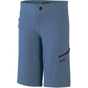 IXS Carve Evo Short Femme, bleu bleu