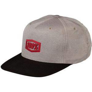 100% Enterprise 2019 Snapback Hat warm grey warm grey