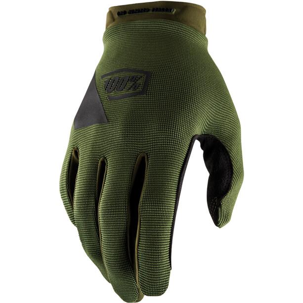 100% Ridecamp Handschuhe fatigue