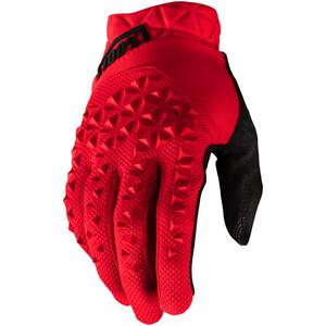 100% Geomatic Handsker, rød/sort rød/sort