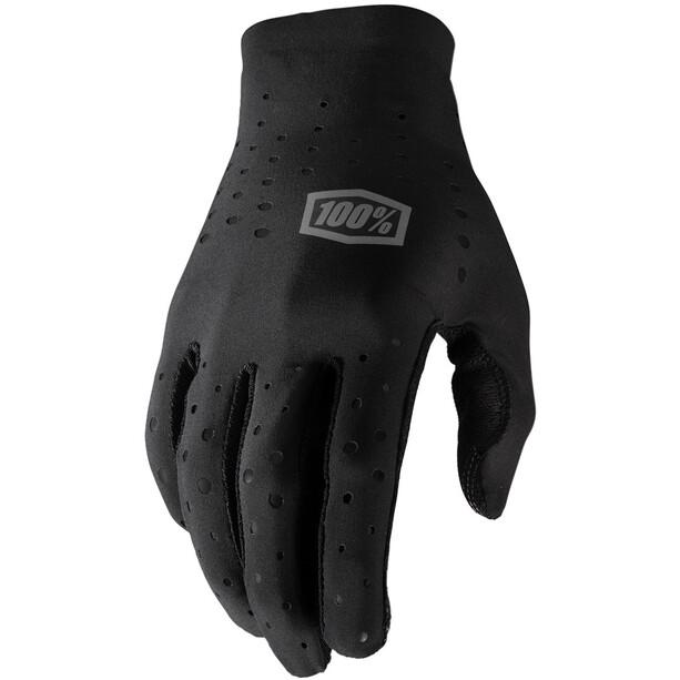 100% Sling Handschuhe black