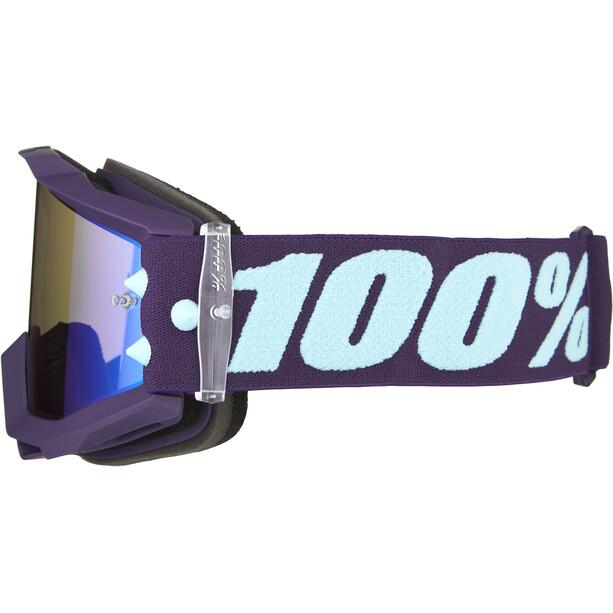 100% Accuri Anti Fog Mirror Goggles maneuver