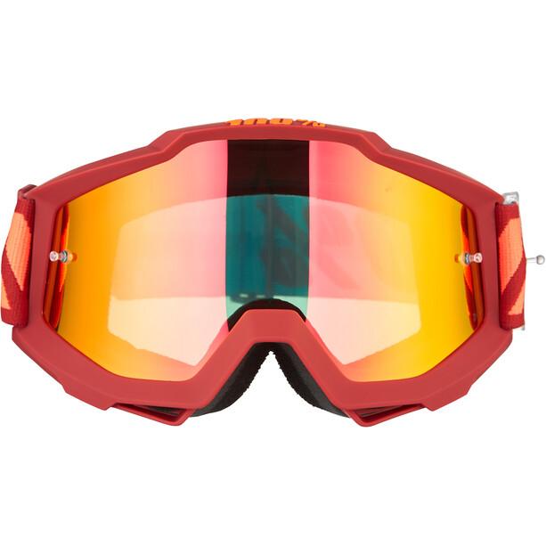 100% Accuri Anti Fog Mirror Goggles dauphine