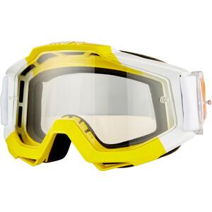 100% Accuri Anti Fog Clear Beskyttelsesbriller, hvid/gul hvid/gul
