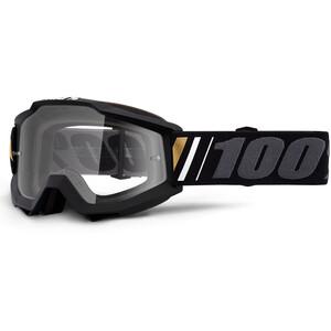 100% Accuri Anti Fog Clear Beskyttelsesbriller, sort/grå sort/grå