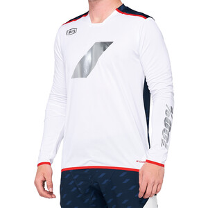 100% R-Core X Limited DH Jersey Men white/navy white/navy
