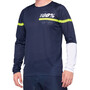 100% R-Core DH Maillot de cyclisme Homme, dark blue/yellow