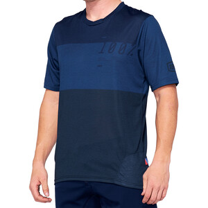 100% Airmatic Enduro/Trail Jersey Pyöräilypaita Miehet, blue/midnight blue/midnight
