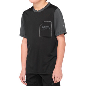 100% Ridecamp Jersey Youth black/charcoal black/charcoal