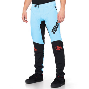 100% R-Core-X DH Hose Herren light blue/black light blue/black