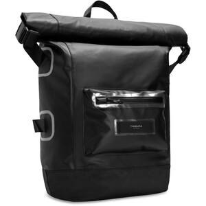 Timbuk2 Especial Shelter Roll Top Backpack ジェット ブラック