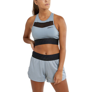 Craft Charge Cropped Mesh Singlet Damen lead lead