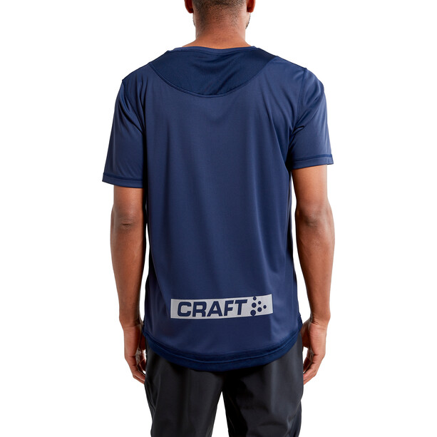 Craft Charge Kurzarm Mesh T-Shirt Herren grau