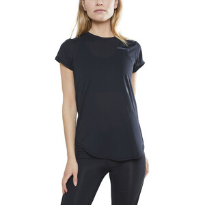 Craft Charge Rundhals Kurzarmshirt Damen black black
