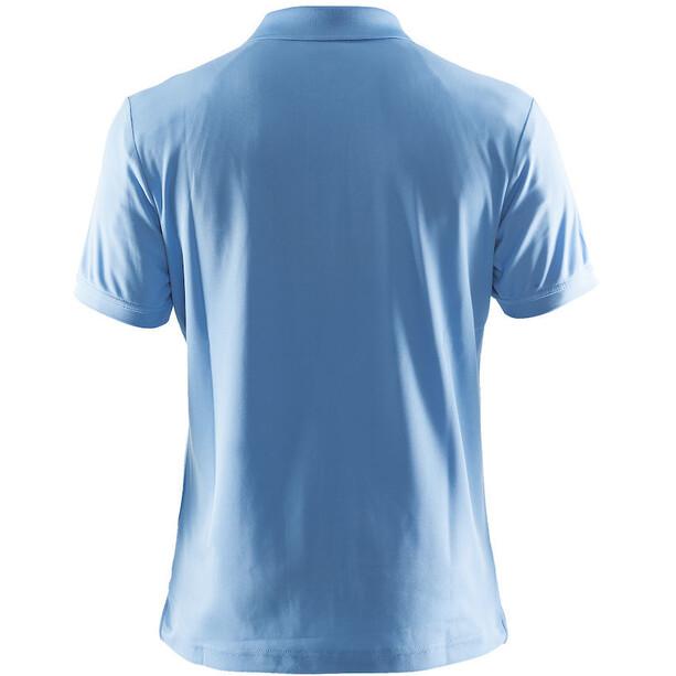 Craft Classic Polo Pique T-shirt Homme, bleu