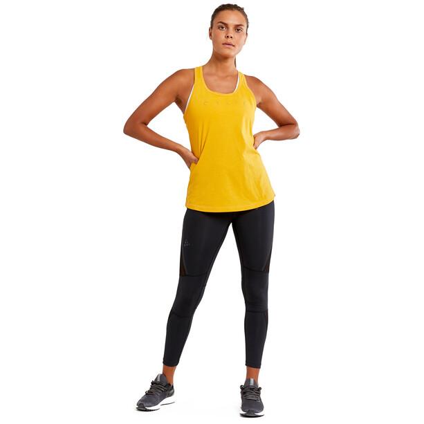 Craft Deft 2.0 Maillot de triathlon Femme, jaune
