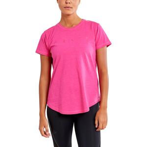 Craft Deft 2.0 Kurzarm T-Shirt Damen fame melange fame melange