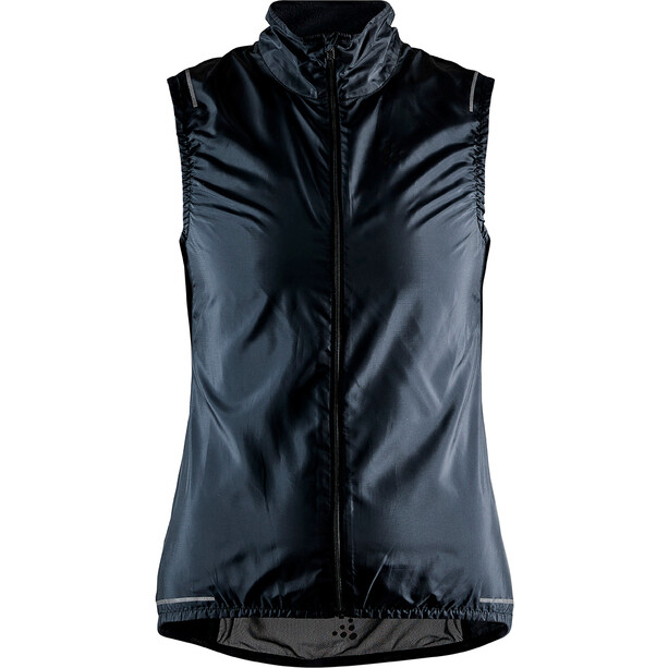 Craft Essence Light Wind Weste Damen black