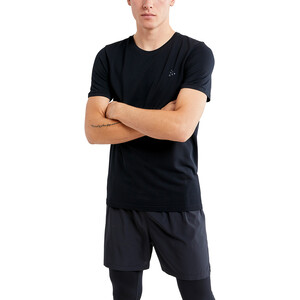 Craft Fuseknit Light Kurzarm Rundhalsshirt Herren black black