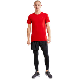 Craft Fuseknit Light Kurzarm Rundhalsshirt Herren bright red bright red