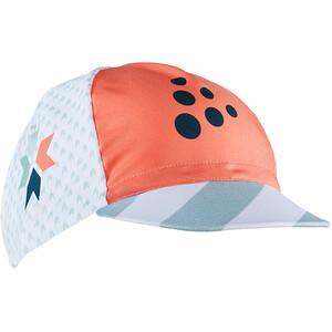 Craft Specialiste Gorra ciclismo, naranja/Azul petróleo naranja/Azul petróleo