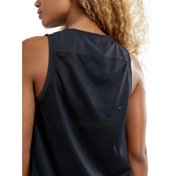 Craft UNTMD Top mit hohen Seitenschlitzen Damen black