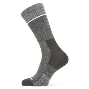 Sealskinz Solo QuickDry Mid-Cut Socken schwarz/grau schwarz/grau
