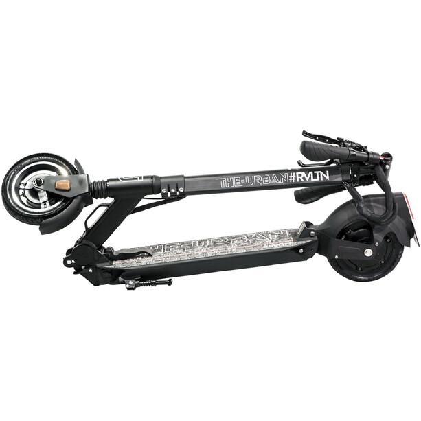 THE-URBAN #RVLTN E-Scooter Auto Bild Edition StVZO black