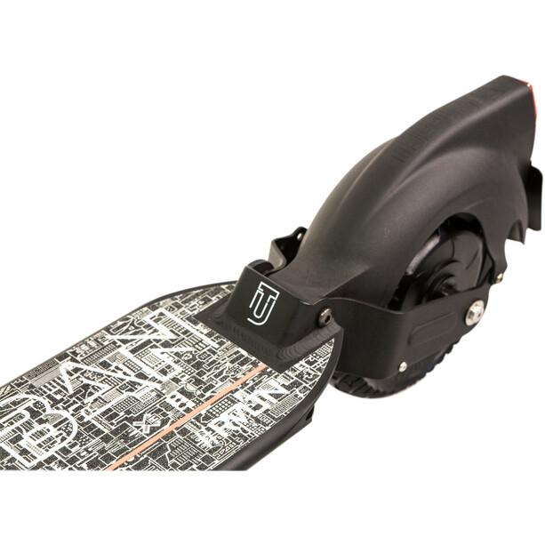 THE-URBAN RVLTN E-Scooter Auto Bild Edition StVZO schwarz
