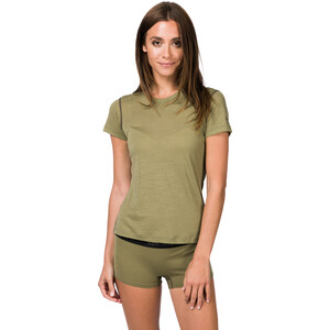 super.natural Base 140 T-Shirt Damen bamboo/killer khaki bamboo/killer khaki